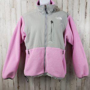 The North Face Womens Jacket Pink Zip In Fleece